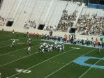 The Citadel offense -- first qtr.