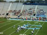 The Citadel offense - first qtr