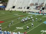 The Citadel offense - first qtr.