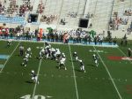 The Citadel offense -- first quarter