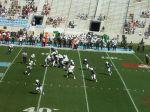 The Citadel offense -- first quarter