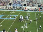 The Citadel offense- first quarter