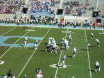 The Citadel offense- first quarter