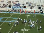 The Citadel offense - fourth qtr