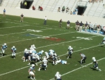The Citadel offense- fourth qtr.