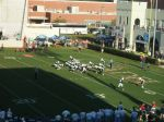 The Citadel offense -- fourth quarter