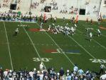 The Citadel offense -- second quarter