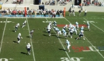 The Citadel offense - third quarter