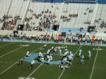 The Citadel offense -- third quarter