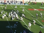 F100 - The Citadel offense vs. Samford