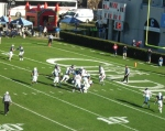F105 - The Citadel offense vs. Samford