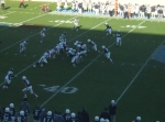 F122 - The Citadel offense vs. Samford