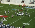 F72 - The Citadel offense vs. Samford