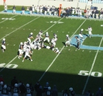 F82 - The Citadel offense vs. Samford