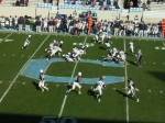 F87 - The Citadel offense vs. Samford