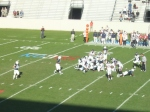 F97 - The Citadel offense vs. Samford