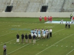 Captains meet at midfield