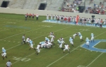 The Citadel offense vs Davidson defense - 1e