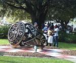 03002 - Ring Statue