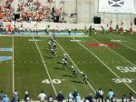 Opening kickoff